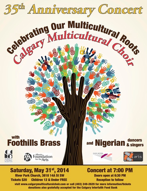 Calgary Multicultural Choir Spring Concert 2014